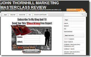 John Thornhill Master Class Review