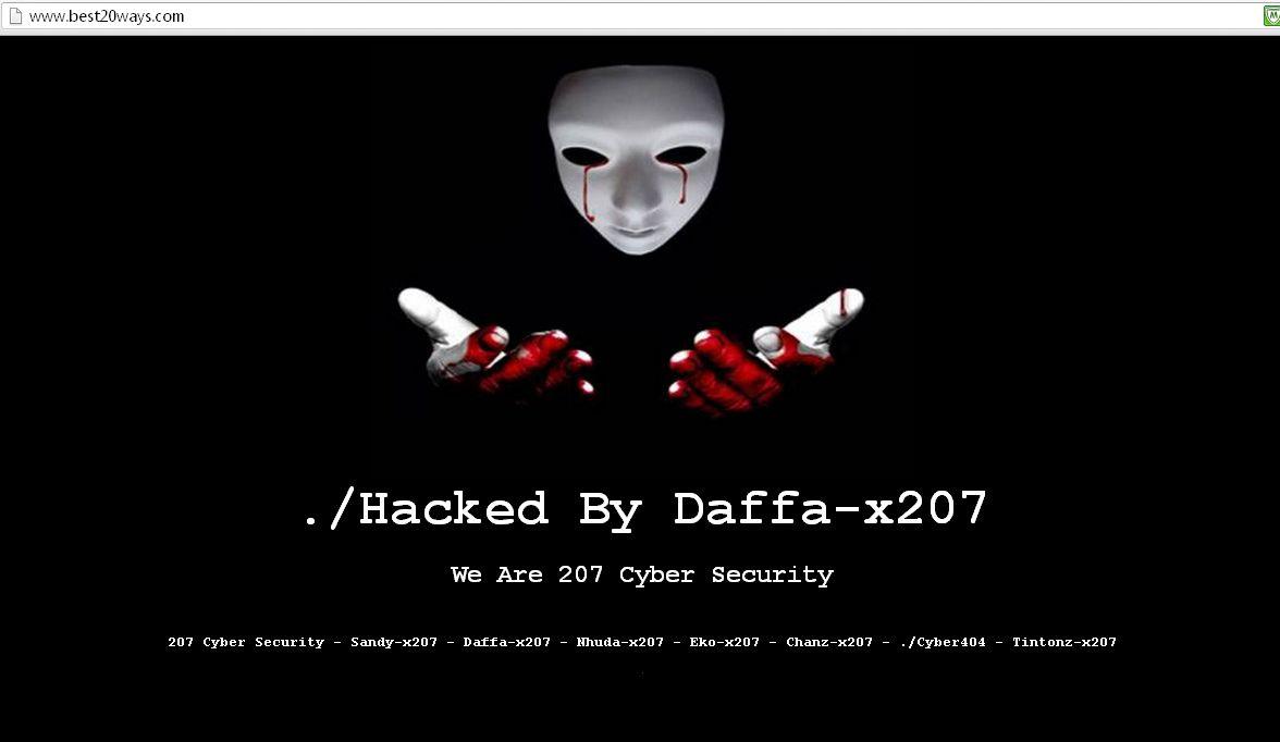 Help, I've Been Hacked!!